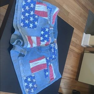 🍭Flag Patch Shorts🍭